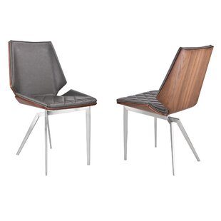 Smythe Upholstered Dining Chair (Set of 2) by Brayden Studio