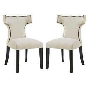 Curve Side Chair (Set of 2) by Modway