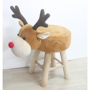 James Reindeer Stool By Harriet Bee