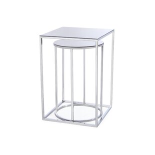 Neuman Brock 2 Piece Nesting Tables (Set of 2) by House of Hampton