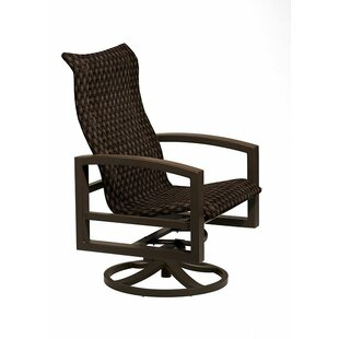 Lakeside Woven Swivel Action Lounger with Cushions