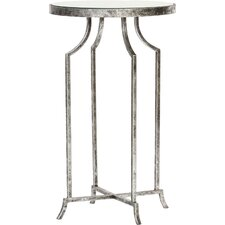 Round Mirrored End Table by Knox & Harrison