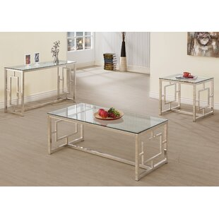 Danberry 3 Piece Coffee Table Set