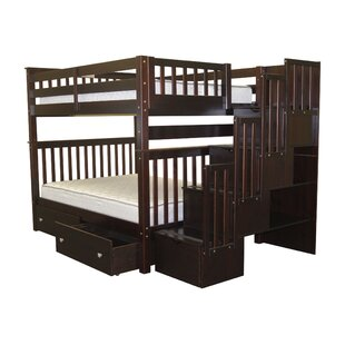 Tena Full over Full Bunk Bed with Extra Storage