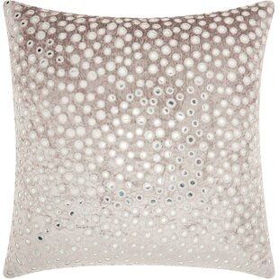 Mika Square Velvet Throw Pillow by Bungalow Rose Wonderful