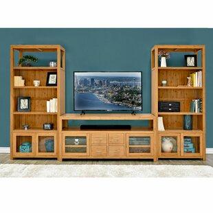 Fleta Bamboo Entertainment Center for TVs up to 65