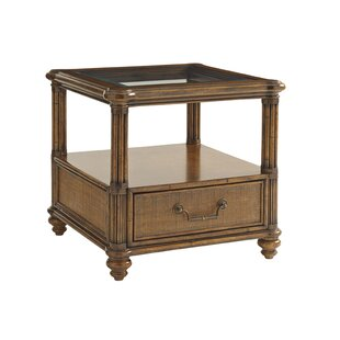 Bali Hai End Table with Storage by Tommy Bahama Home