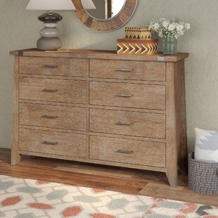 Loon Peak Crane 8 Drawer Double Dresser