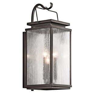 Conesville 3-Light Outdoor Wall Sconce by Darby Home Co Best #1