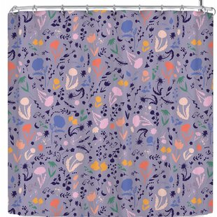 Akwaflorell Pretty Little Flowers4 Single Shower Curtain