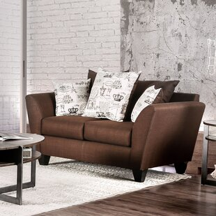 Griffin Contemporary Loveseat by Latitude..