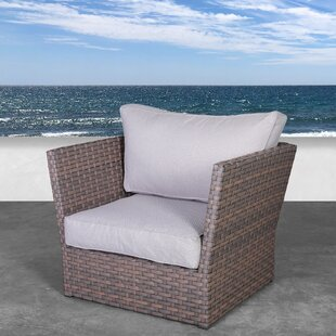 Highland Dunes Kinley Patio Chair with Cu..