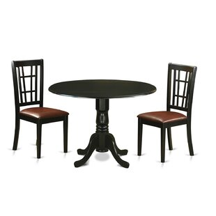 Spruill 3 Piece Extendable Dining Set August Grove
