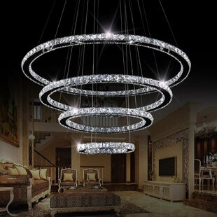 Led Integrated Chandeliers Up To 60 Off Through 9 29 Wayfair