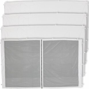 Anner Zippered Mesh Sidewall Kits for Outdoor Canopies/Gazebo by Freeport Park