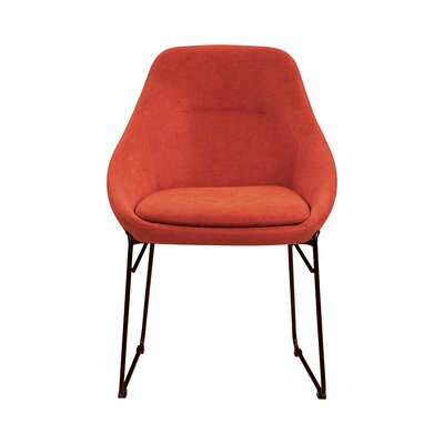 Dash Upholstered Dining Chair Persimmon Decor+