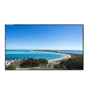 Excelvan White 120 Portable Projection Screen by LANGRIA