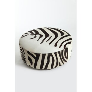 Ladue Leather Pouf by Bloomsbury Market