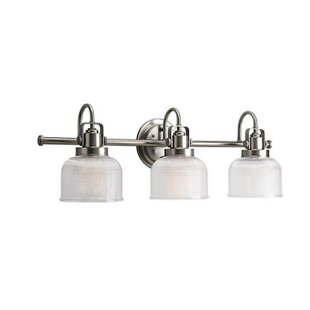 Budget Eldert 3-Light Vanity Light By Breakwater Bay