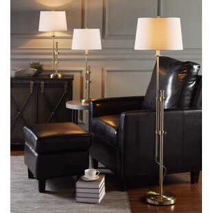 Zeno 3 Piece Lamp Set
