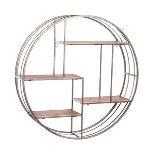 Best Noam Round Metal Wall Shelf ByGracie Oaks