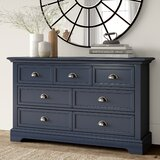 Appleby 7 Drawer Double Dresser by Greyleigh™