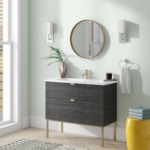 Bronx Murrah 1016mm Free-standing Single Vanity Unit By Ebern Designs