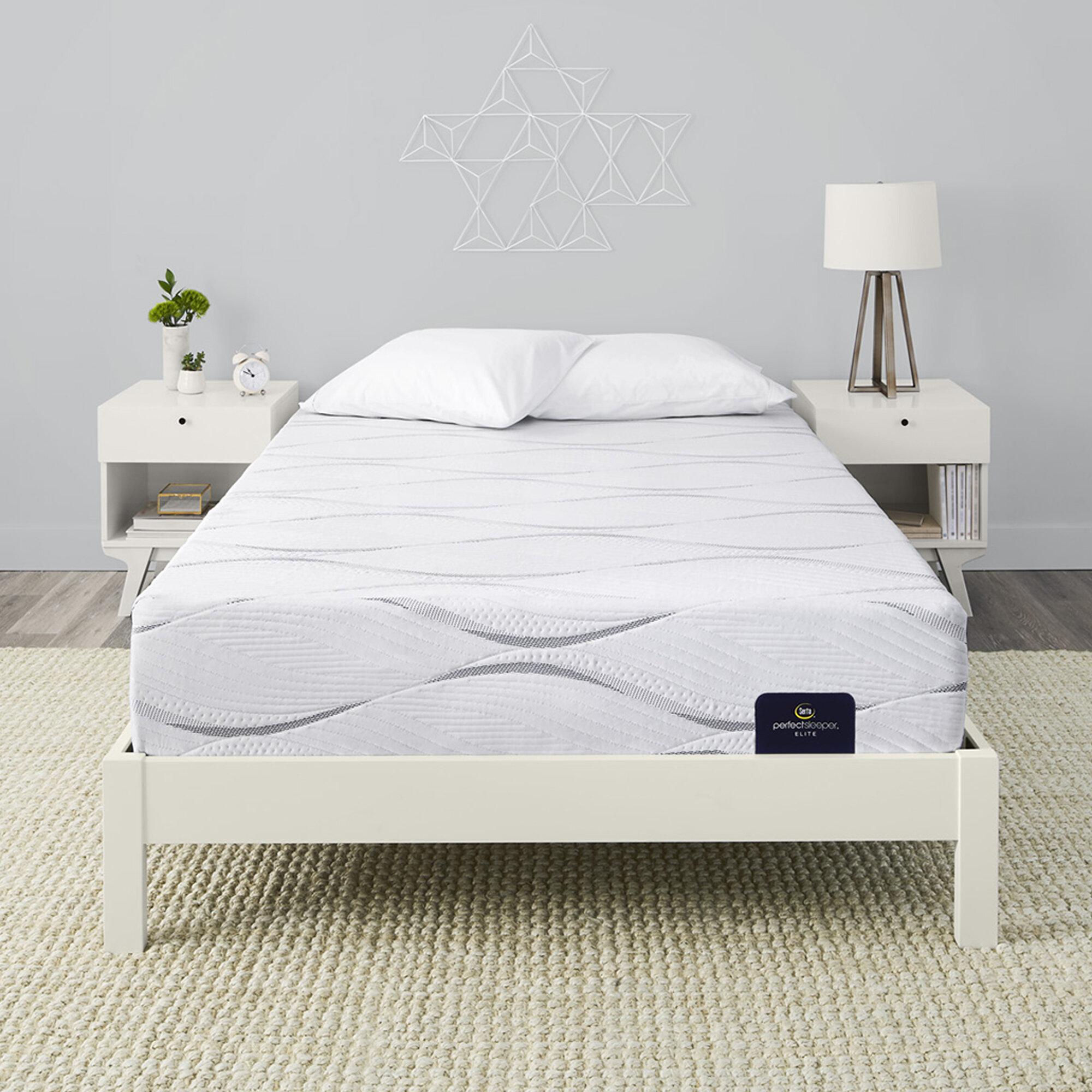 Serta Perfect Sleeper 12 Southpoint Ii Medium Foam Mattress Reviews Wayfair