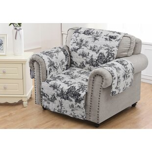 Affordable Price Classic Toile Slipcover by Ophelia & Co. Reviews (2019) & Buyer's Guide