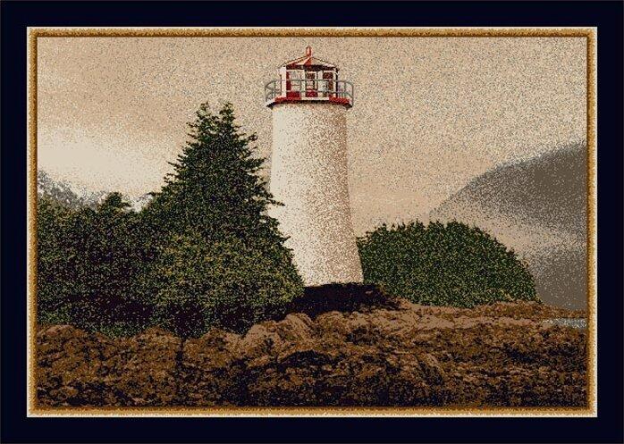 Milliken Fall Seasonal Lighthouse Rug