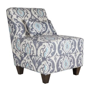 Metoyer Fabric Upholstered Wooden Side Chair by Bungalow Rose