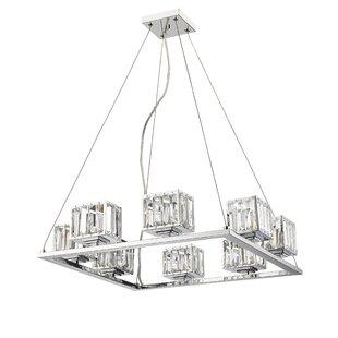 Willa Arlo Interiors Eriq 8-Light Shaded Chandelier