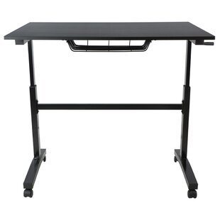 Stennett Height Adjustable Standing Desk by Latitude Run