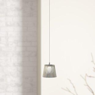 Emerie 1-Light LED Bell Pendant by Orren Ellis