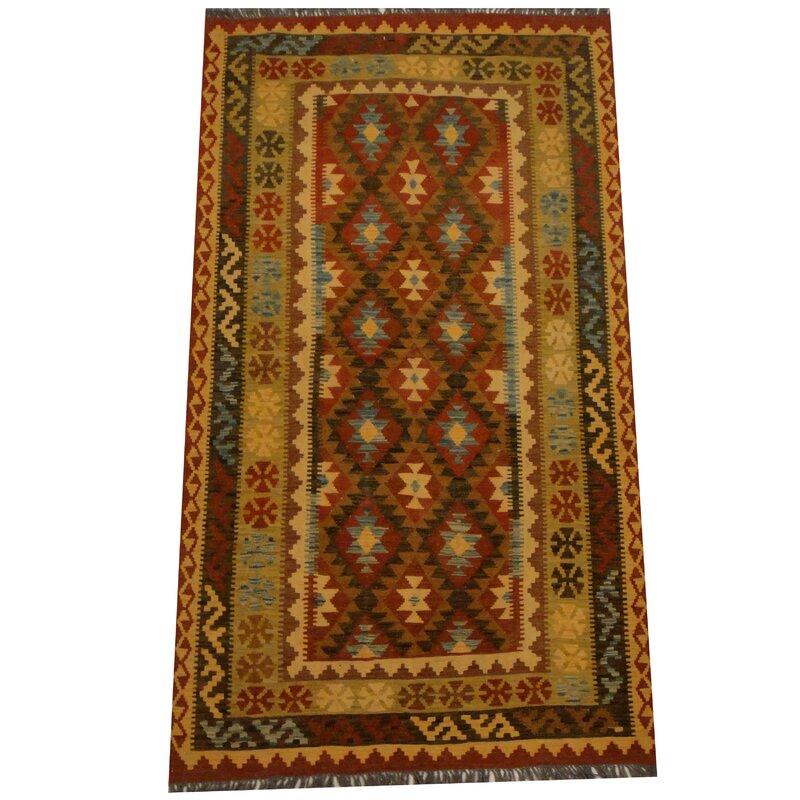 Herat Oriental Kilim Rust Area Rug Wayfair