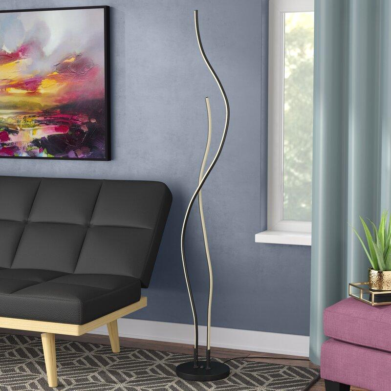 Orren Ellis Tyrol 64 Led Novelty Floor Lamp Reviews Wayfair