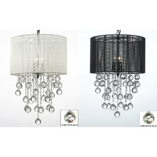 Orren Ellis Housel 3-Light Chandelier (Se..