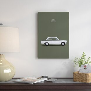 '1966 Ford Cortina Lotus Mark I' Graphic Art Print on Canvas ByEast Urban Home