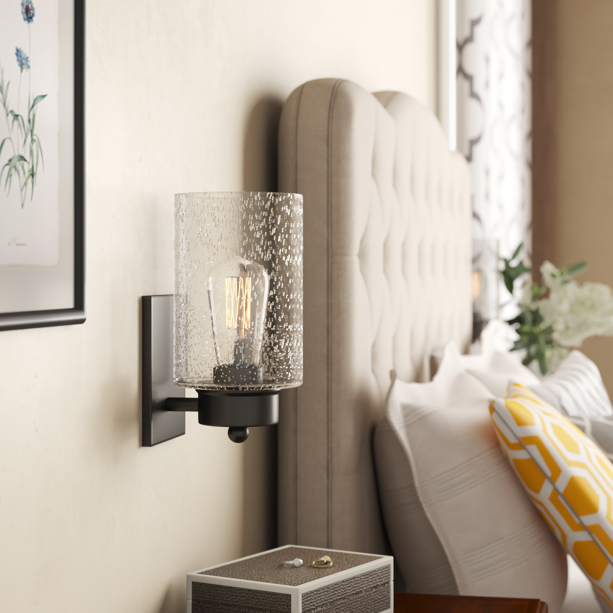 Wall Sconces Joss Main No Wiring Lights Quickview