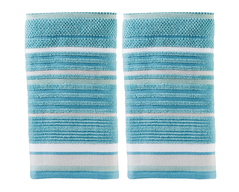 Bath Sheet, Checkers Blue Bath Towel 100/% Cotton Jacquard Hand Towel Bath Sheet