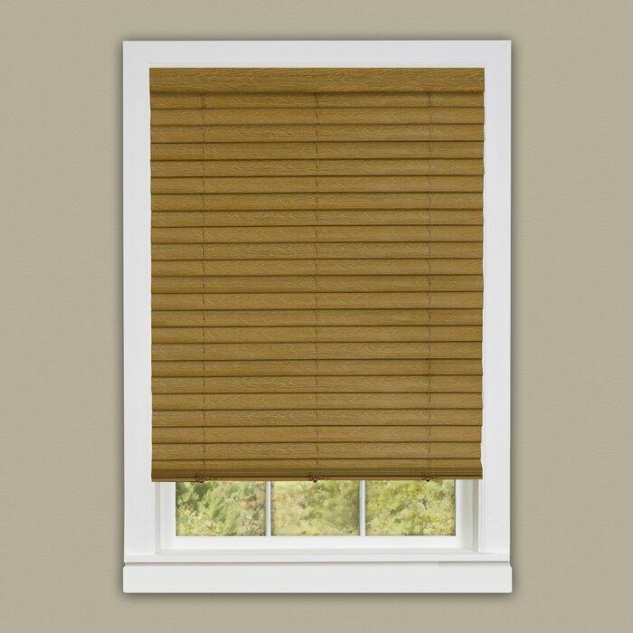 blinds wood inch decorators x home p blind white faux en collection