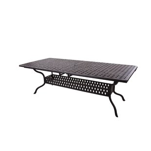 Mckinney  Extendable Metal Dining Table by Astoria Grand