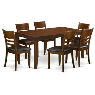 Lockmoor 7 Piece Dining Set Red Barrel Studio