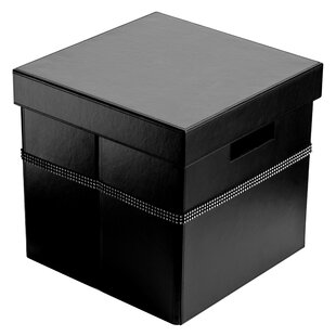 Leather Storage Box With Lid