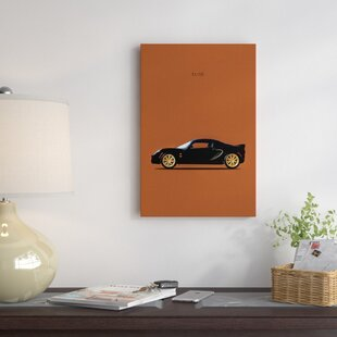'Lotus Elise Type 72-D' Graphic Art Print on Canvas By East Urban Home