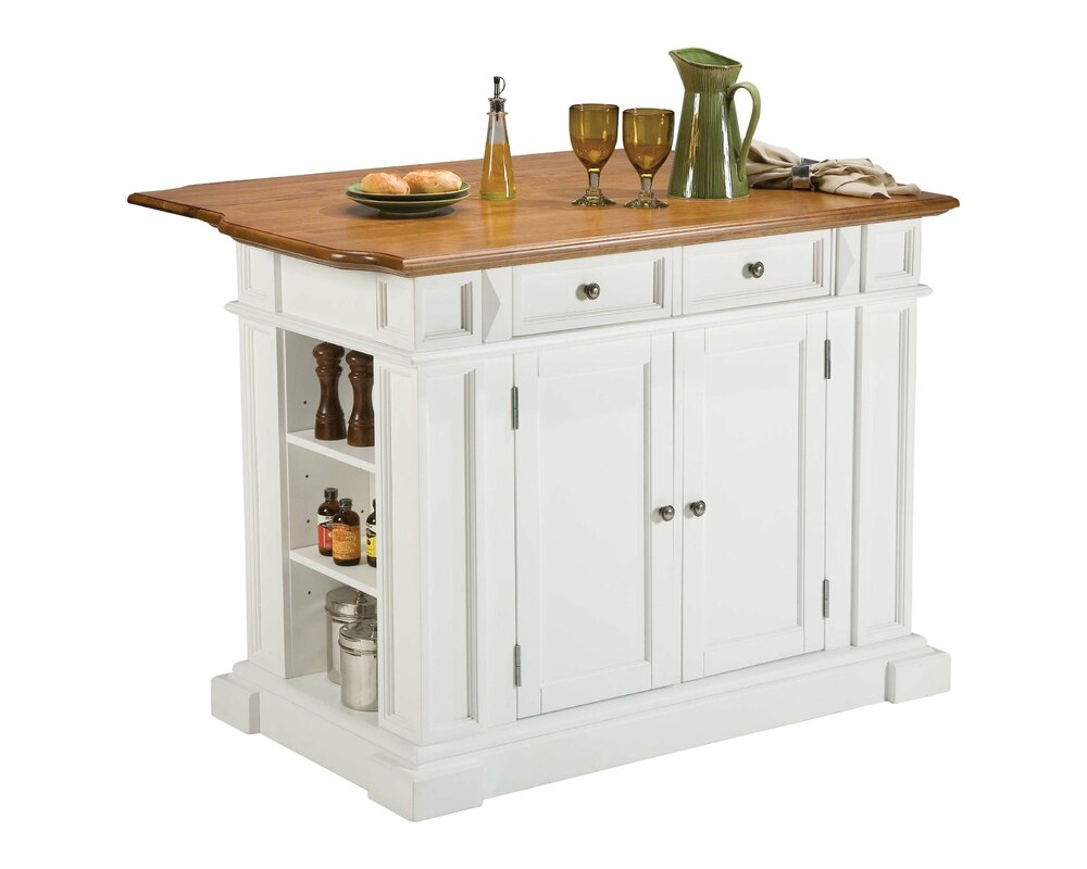 Darby Home Co Ehrhardt Kitchen Island U0026 Reviews | Wayfair