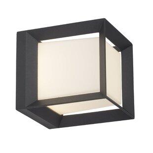 Kubus 21cm Bollard Light By AEG Lighting