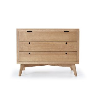 Torrey Retro 3 Drawer Chest by Mistana