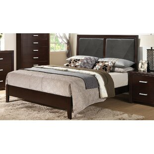 Wen Upholstered Bed Panel Bed