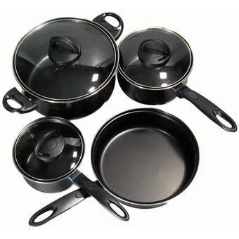 Better Chef 7 Pieces Non Stick Cookware Set Reviews Wayfair